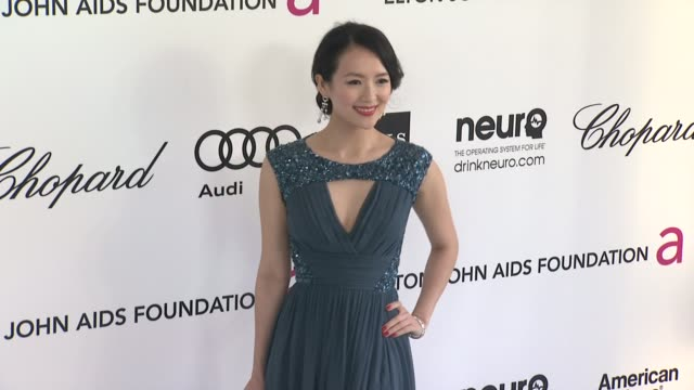 Zhang Ziyi at Elton John Aids Foundation Celebrates 20th Annual Academy Awards Viewing Party on 2/26/12 in Hollywood CA