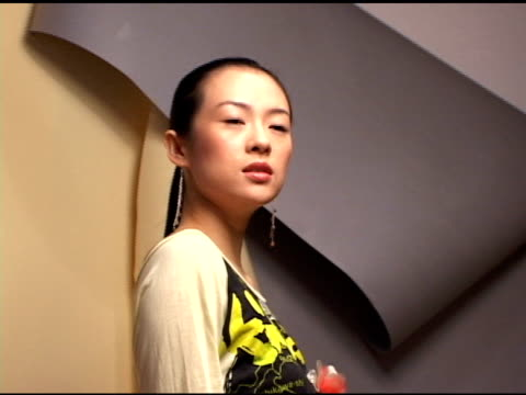 Zhang Ziyi at the 2004 Toronto International Film Festival 'House Of Flying Daggers' Portraits at Intercontinental in Toronto Ontario on September 11...