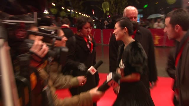 Zhang Ziyi at the 59th Berlin Film Festival Forever Enthralled Premiere at Berlin