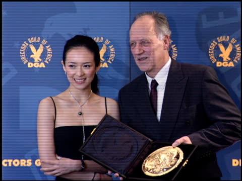 Zhang Ziyi at the DGA Awards at Hyatt Regency in Century City California on January 28 2006