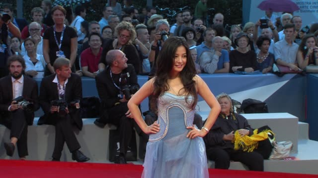 Zhao Wei at Linhas De Wellington Premiere 69th Venice Film Festival at Sala Grande on September 04 2012 in Venice Italy