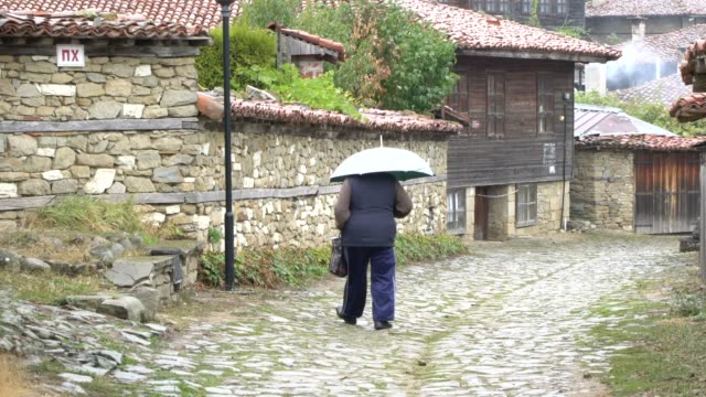 zheravna, bulgaria; august 2018; the village of zheravna, set in a small valley at the southern foot of the eastern balkan mountains, is an... - loneliness stock videos & royalty-free footage