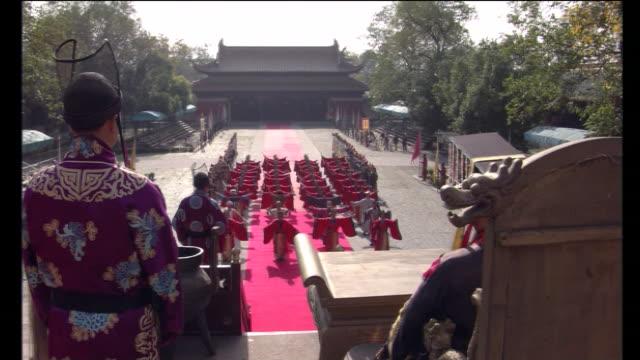 zhoutian palace - 皇帝点の映像素材/bロール