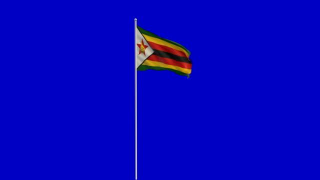 zimbabwe flag Rising