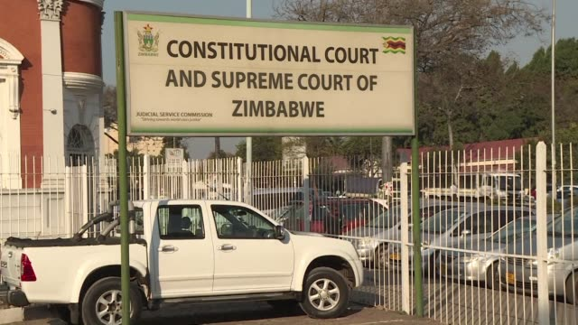 zimbabwe' main opposition mdc party say they will challenge the results of the national election before the constitutional court - idrottsbana bildbanksvideor och videomaterial från bakom kulisserna