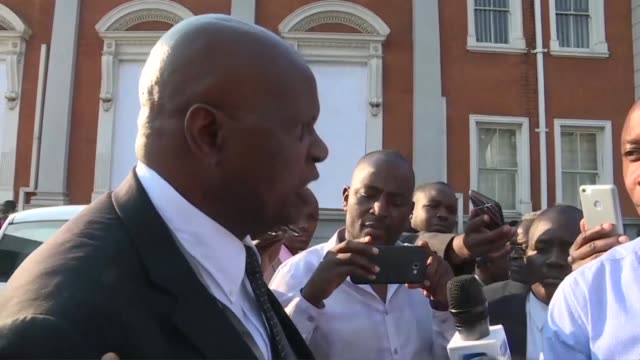 zimbabwe minister of finance and economic planning patrick chinamasa says the past election was the most transparent most credible the country has had - zimbabwe stock videos & royalty-free footage