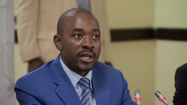 Zimbabwe opposition leader Nelson Chamisa saying he respects the endorsement of former President Robert Mugabe but that he welcomes any voter with...