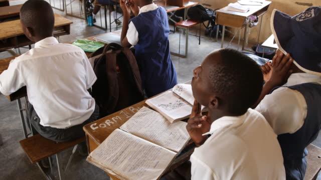 zimbabwe, school in a secluded area near chakari. - non urban scene stock videos & royalty-free footage