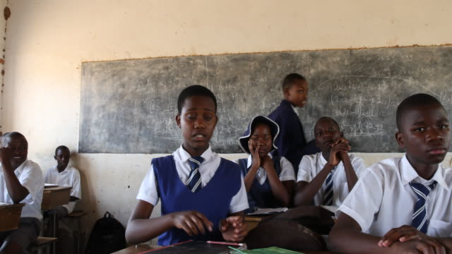 zimbabwe, school in a secluded area near chakari. - setting stock videos & royalty-free footage