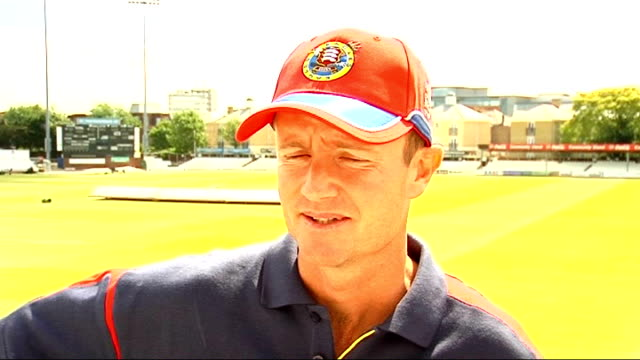 Grant Flower interview ENGLAND Essex EXT Grant Flower interview SOT welcomes decision to ban Zimbabwe 2009 cricket tour of England Grant flower...