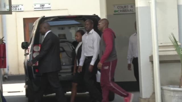 zimbabwean activist pastor evan mawarire appears in court after he was arrested during a church service on sunday - pastor stock videos and b-roll footage