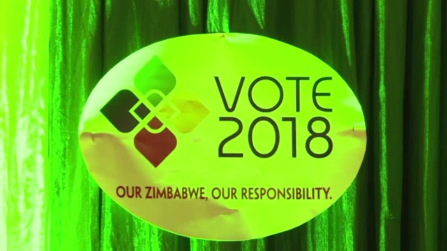 zimbabwean electoral commission refuses to name a second candidate accused of infringing election rules by campaigning the day before the vote - välja bildbanksvideor och videomaterial från bakom kulisserna