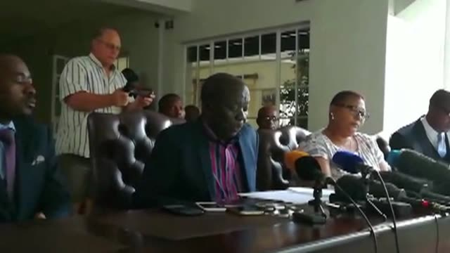Zimbabwean opposition leader Morgan Tsvangirai called on Thursday for President Robert Mugabe to step down after the military took control of the...