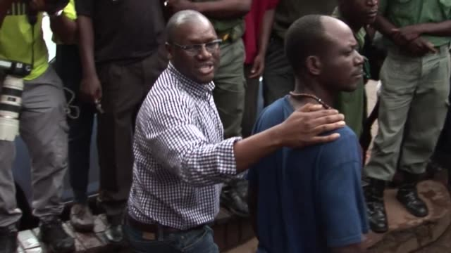 zimbabwean protest leader evan mawarire is remanded in custody by a court in harare after police arrested him on charges of subverting the government... - harare stock videos and b-roll footage