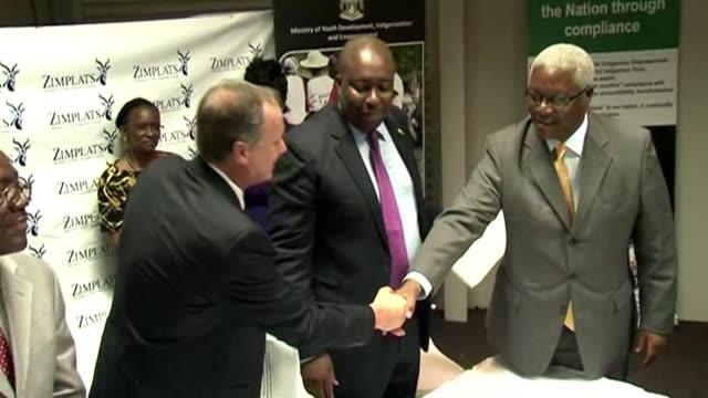 Zimbabwe's Central Bank has frozen the accounts of Jonathan Moyo and Saviour Kasukuwere
