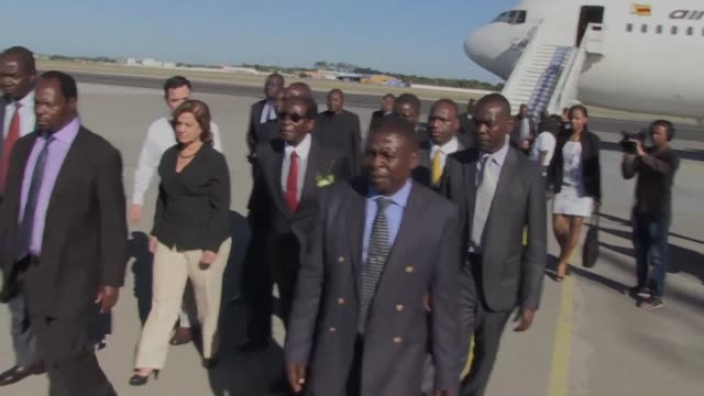zimbabwe's longtime ruler robert mugabe praised his dear brother after landing in havana on tuesday as latin american and african presidents join... - brother stock videos & royalty-free footage
