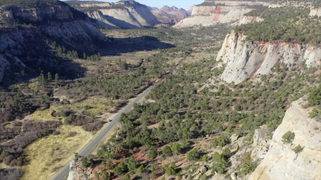 zion national park aerial - zion national park stock videos & royalty-free footage
