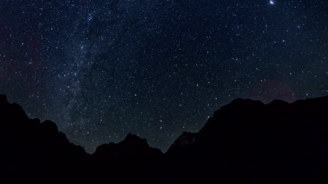 zion national park stars - stars stock videos & royalty-free footage