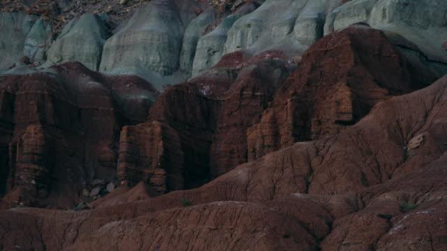zion national park, utah, usa, north america, america - ザイオン国立公園点の映像素材/bロール