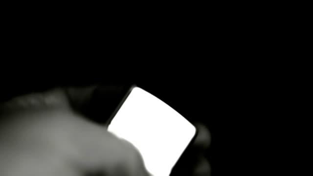 Zippo Lighter Black And White