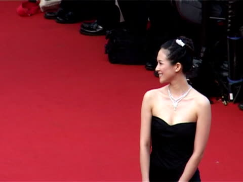 Ziyi Zhang at the 2005 Cannes Film Festival Closing Ceremony and 'Chromophobia' Screening at Cannes
