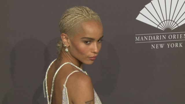 zoë kravitz at 19th annual amfar new york gala at cipriani wall street on february 08, 2017 in new york city. - gala stock videos & royalty-free footage
