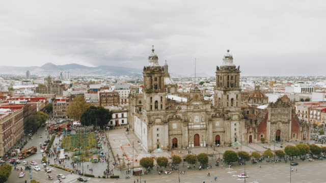 stockvideo's en b-roll-footage met zocalo-plein in mexico-stad - mexico stad