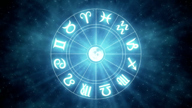 zodiac signs | loopable - forecasting stock videos & royalty-free footage