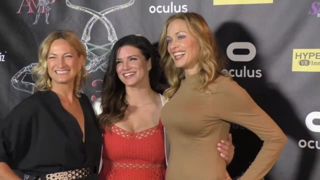 Zoe Bell Gina Carano Kristanna Loken at the 2017 Artemis Women In Action Film Festival Opening Night Gala on April 20 2017 in Beverly Hills California