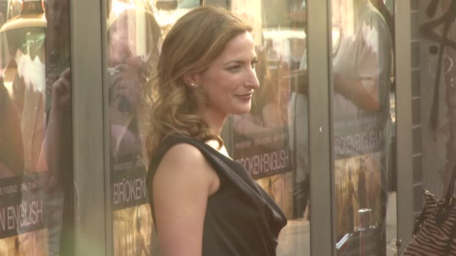 Zoe Cassavetes at the 'Broken English' New York Premiere at Landmark Sunshine Cinema in New York New York on June 18 2007