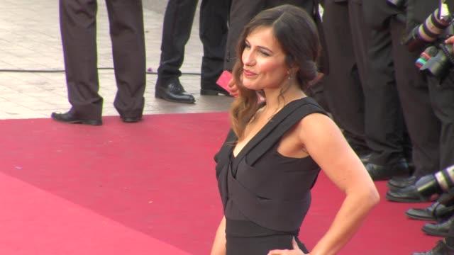 Zoe Felix at the 'La Piel Que Habito' Premiere during the 64th Cannes Film Festival at the La Piel Que Habito Red Carpet 64th Cannes Film Festival at...