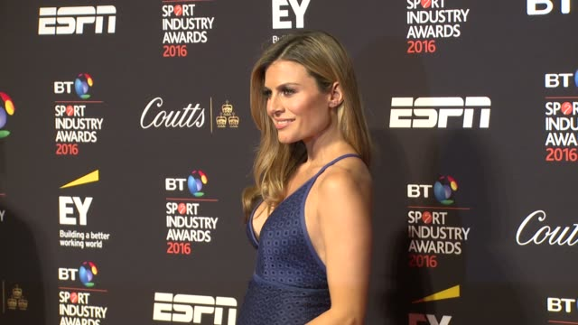 Zoe Hardman at The 15th BT Sport Industry Awards on April 28 2016 in London England
