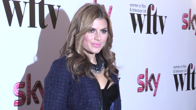 Zoe Hardman at Women In Film and TV Awards at London Hilton on December 07 2012 in London England