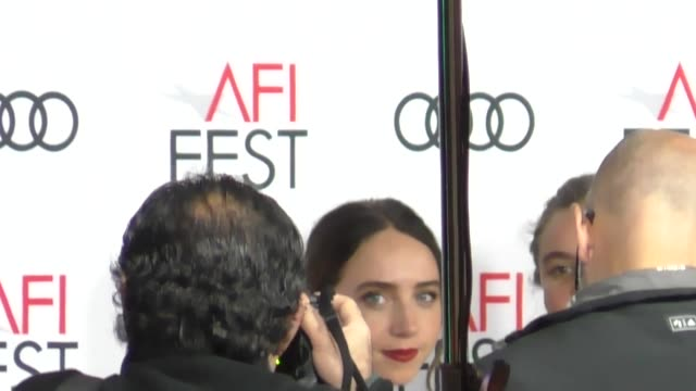 zoe kazan at the screening of 'call me by your name' at afi fest 2017 presented by audi at tcl chinese theatre in hollywood at celebrity sightings in... - call me by your name stock videos & royalty-free footage