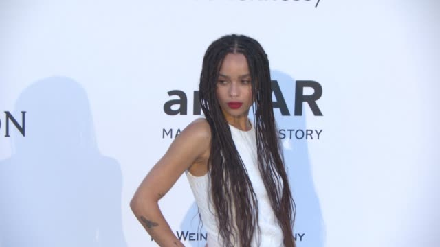 Zoe Kravitz at amfAR 22nd Cinema Against AIDS Gala Presented By Bold Films And Harry Winston at Hotel du CapEdenRoc on May 21 2015 in Cap d'Antibes...