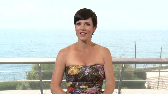INTERVIEW Zoe McLellan at 55th Monte Carlo TV Festival Day 2 on June 16 2015 in MonteCarlo Monaco