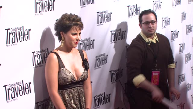 Zoe McLellan at the Conde Nast Traveler Celebrates its 8th Annual Hot List Party at Mansion in New York New York on April 17 2008