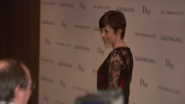 Zoe McLellan at the Premiere of 'Sleepwalking' at the Tribeca Grand Screening Room in New York New York on March 11 2008