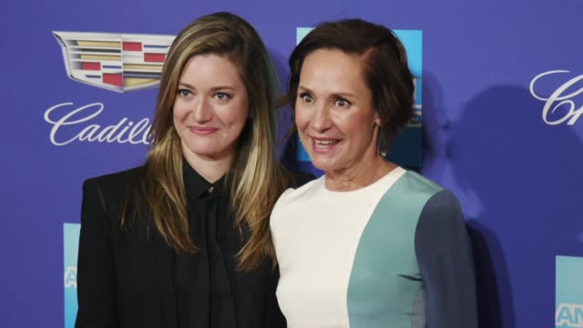 Zoe Perry and Laurie Metcalf at the 29th Annual Palm Springs International Film Festival Awards Gala at Palm Springs Convention Center on January 02...