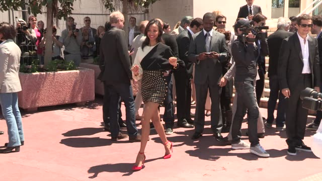 Zoe Saldana at Celebrity Sightings on May 20 2013 in Cannes France