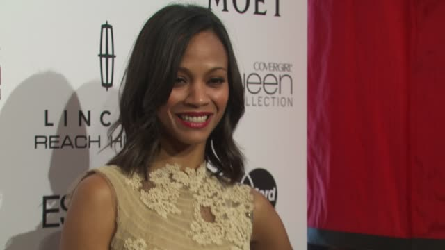 Zoe Saldana at the 3rd Annual Essence Black Women In Hollywood Luncheon at Beverly Hills CA