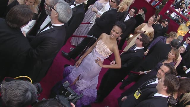 Zoe Saldana at the 82nd Annual Academy Awards Arrivals Part 2 at Los Angeles CA