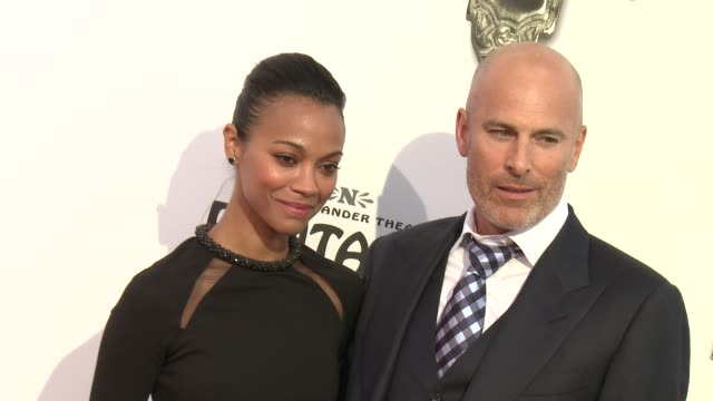 Zoe Saldana at The Book Of Mormon Los Angeles Opening Night on 9/12/12 in Los Angeles CA