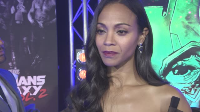 INTERVIEW Zoe Saldana on not being green fun with the cast SicFi should be getting more recognition at award ceremonies at The European Gala of...