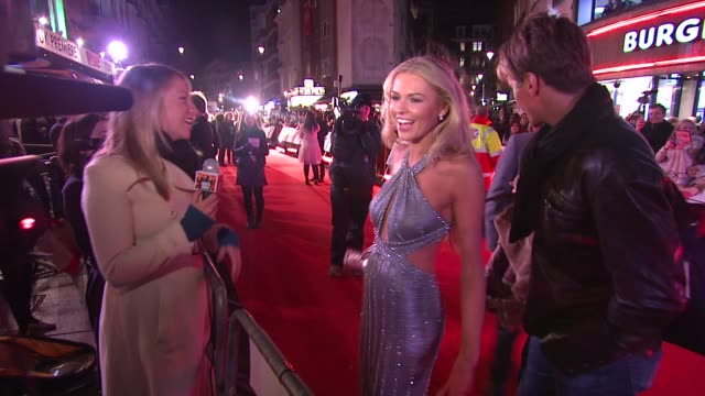 zoe salmon at the marley and me uk premiere at london . - zoe salmon stock videos & royalty-free footage