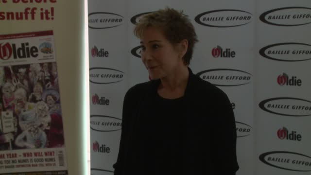 Zoe Wanamaker at The Oldie of the Year Awards on February 4 2014 in London England