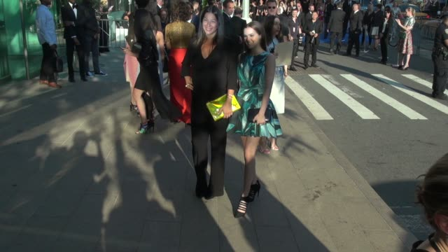 Zoey Deutch and Rebecca Minkoff arrive at the 2014 CFDA Fashion Awards at Alice Tully Hall Lincoln Center on June 02 2014 in New York City