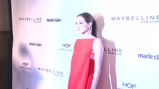 Zoey Deutch at Marie Claire Celebrates May Cover Stars in Los Angeles CA