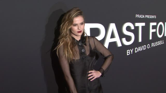 Zoey Deutch at Prada Presents 'Past Forward' by David O Russell Los Angeles Premiere in Los Angeles CA
