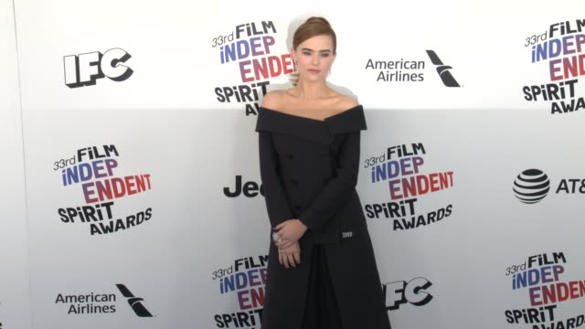 Zoey Deutch at the 2018 Film Independent Spirit Awards on March 03 2018 in Santa Monica California